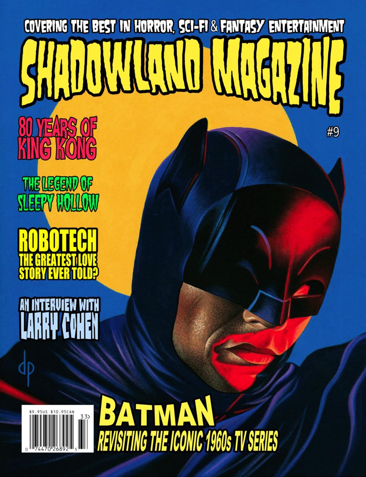 Favorite New Magazine: Shadowland #9 (Batman, King Kong, Sleepy Hollow)