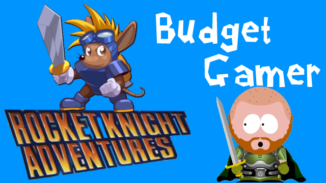 Rocket Knight Adventures for Sega Genesis