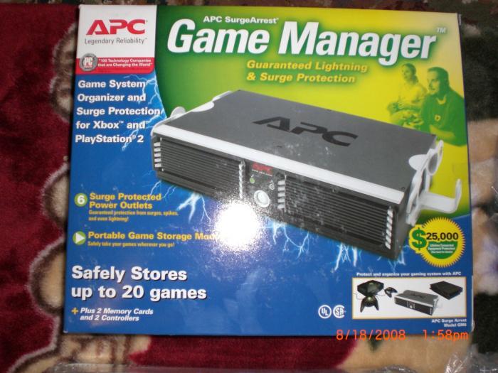 APC SurgeArrest Game Manager