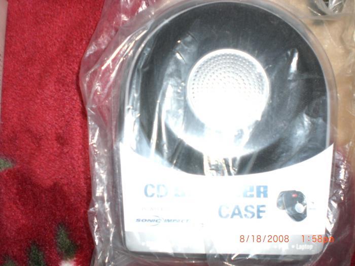 Sonic Impact CD Speaker Case