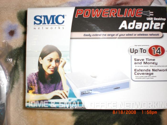 SMC Networks PowerLine USB Desktop Adapter