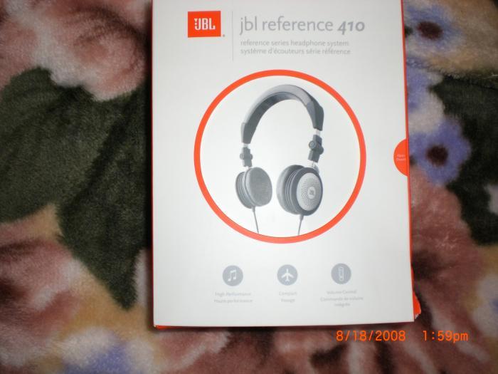 JBL Reference 410 Headphones