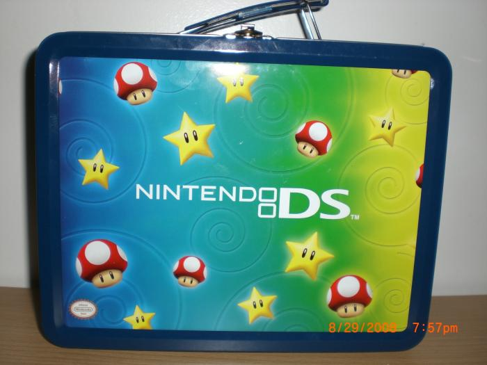 Nintendo DS Star Lunch Box Starter Kit
