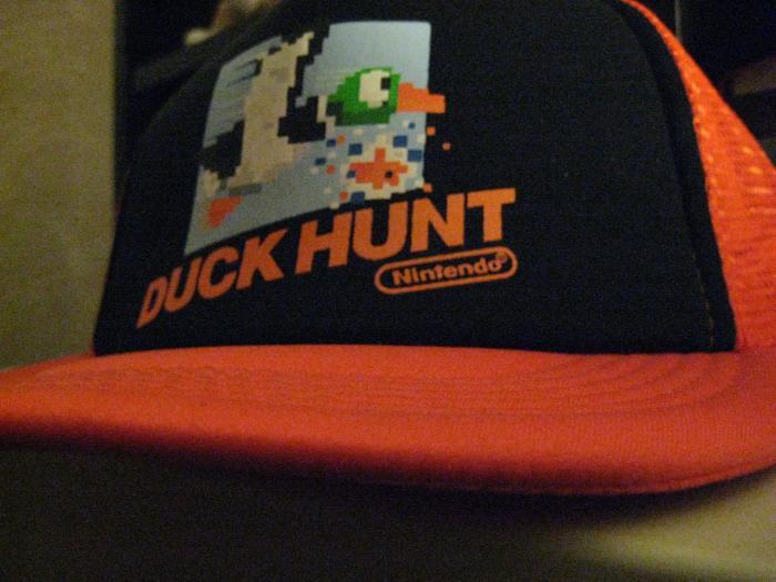 IMG 0123a Duck Hunt trucker hat