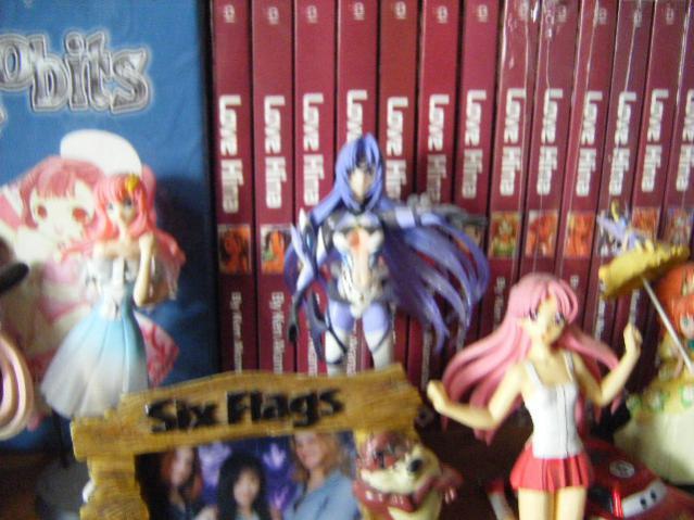 Gundam ??? - Figure #1 Xenosaga III - KOS-MOS II (I think) (girl with pink hair is gone)