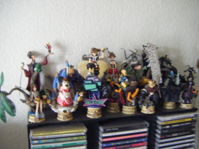 Kingdom Hearts Figures