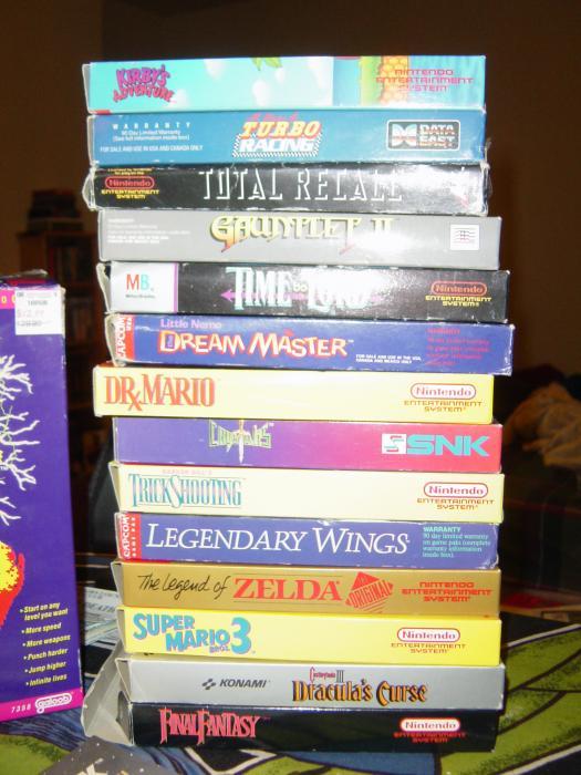 Original boxed games FTW