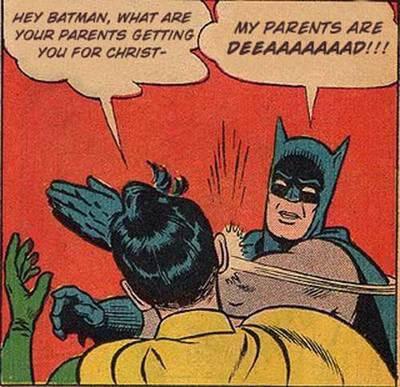 Poor batman =(