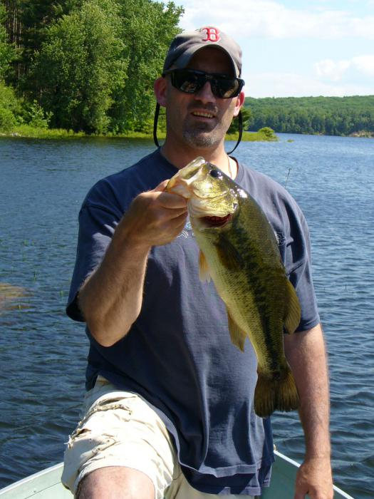 Largemouth Bass @ Quabbin Reservoir