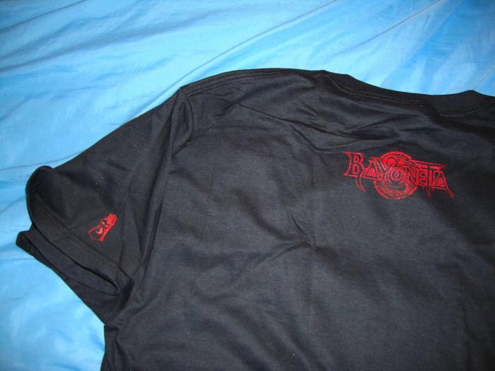 PA Bayonetta shirt - Back
