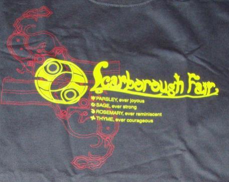 PA Bayonetta shirt - Front wording