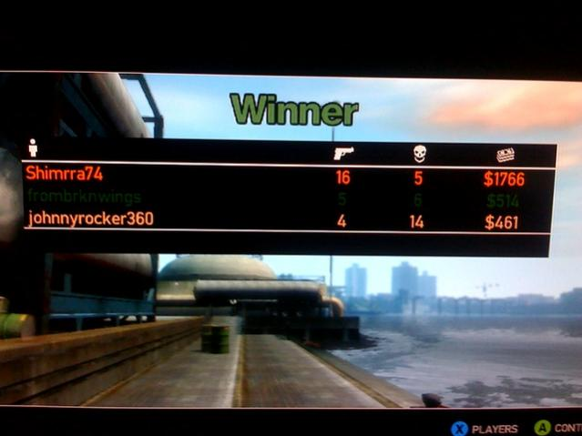 Game 2 on GTAIV
