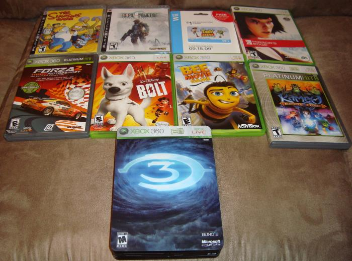 Games Part 4: The Simpson's Game, Lost Planet, Toy Story Mania pre