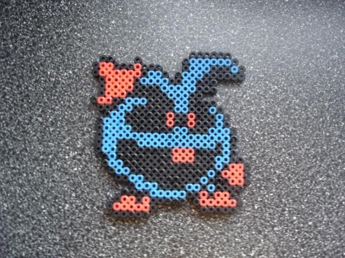 Blue Virus from Dr. Mario.