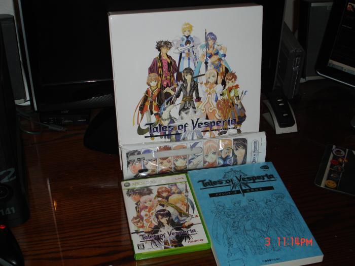Tales of Vesperia Premium Pack