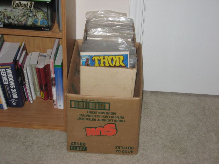 Box of unsorted comics (given to me by a friend)
