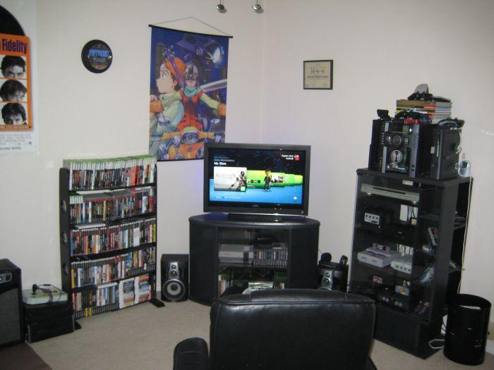 Main Console game area