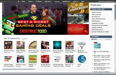 FrontPageiTunes!