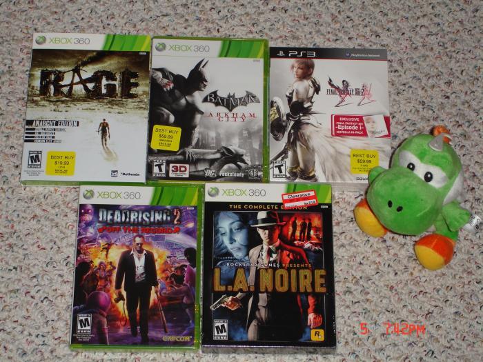 Games & Yoshi!