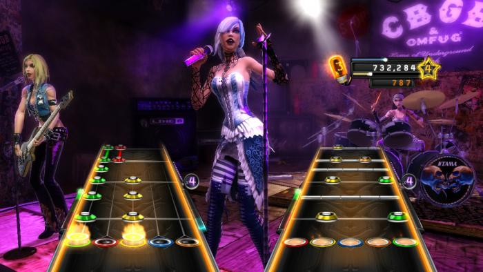 Guitar Hero Warriors of Rock Girl Band - Review Pictures 2 - Gallery