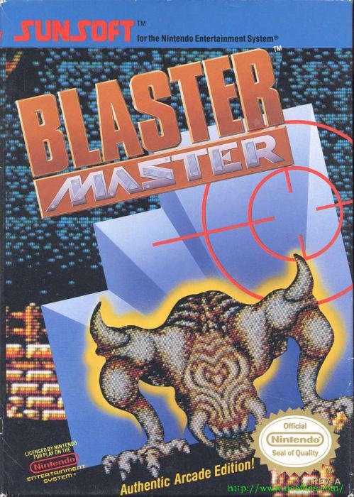 Blaster Master boxfront