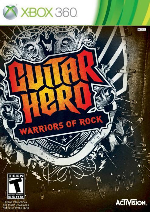 Guitar Hero Warriors of Rock   Cover