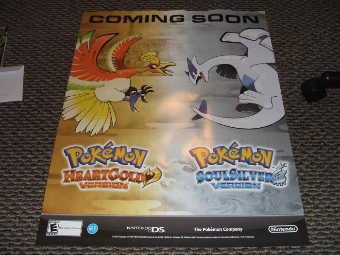 Pokemon Poster from GS.