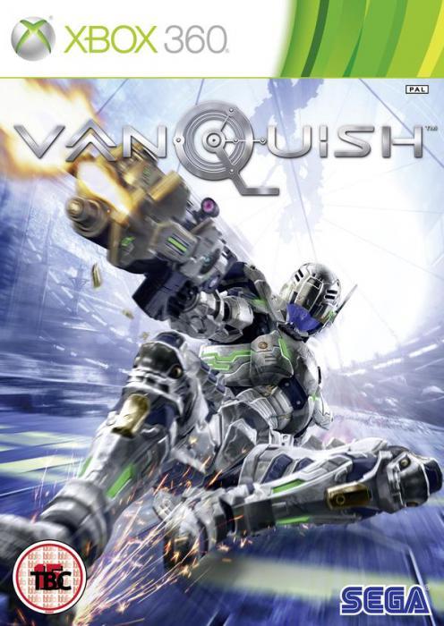 Vanquish Box Art