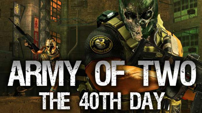 army of two 40 days 0