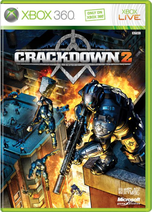 crackdown 2 cover picture