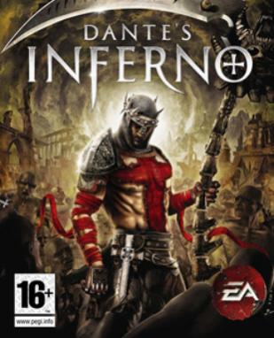 dantes inferno game box artwork
