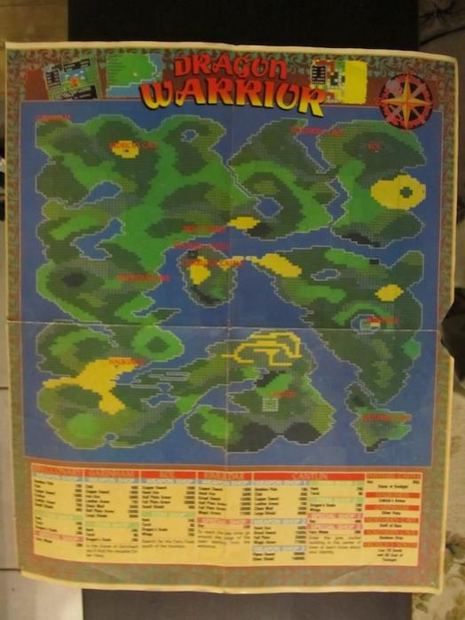 dragon warrior map - stuff to sell on cag - Gallery - Cheap Gamer on