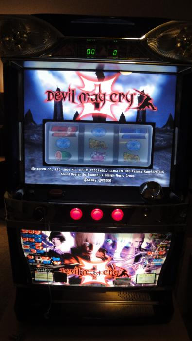 Devil May Cry 3 front view