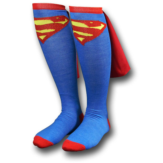 superman cape socks
