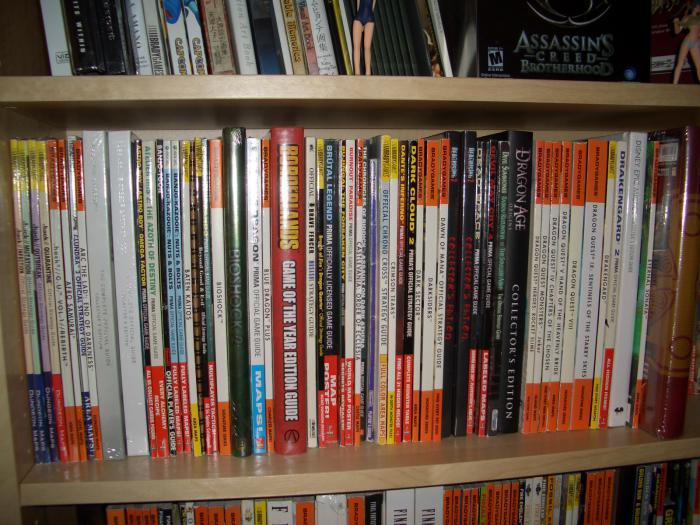 guides first shelf