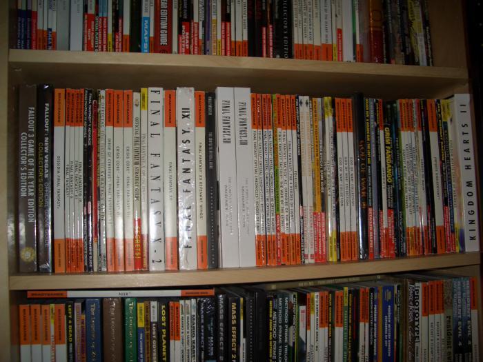guides second shelf