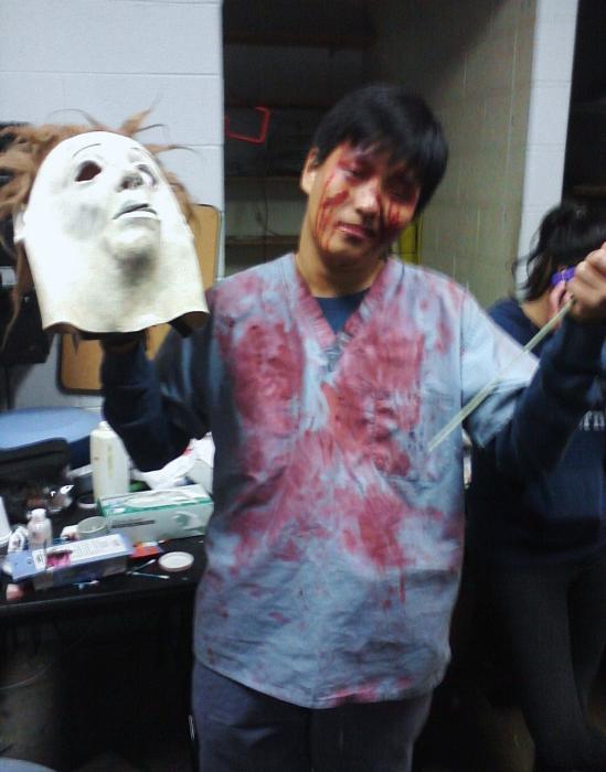 Scream Scene 2012 volunteer