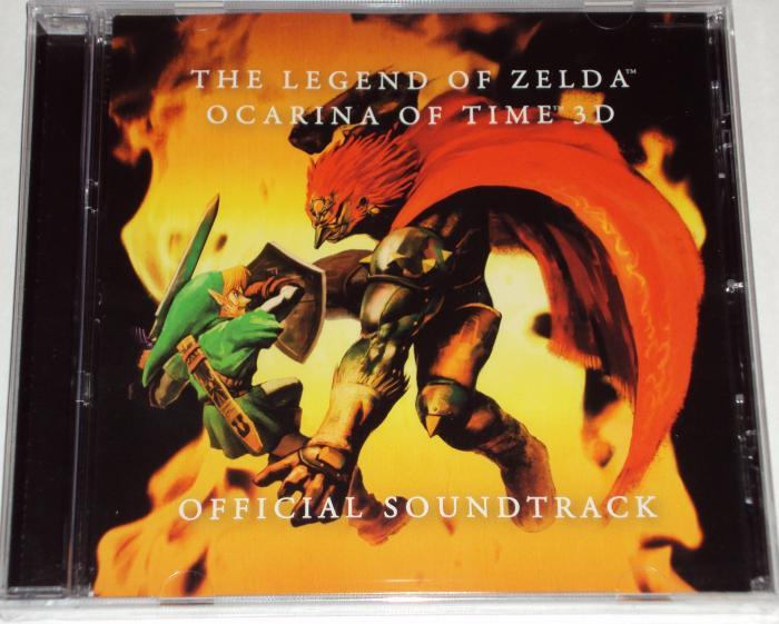 Zelda OoT 3DS preorder cd front2