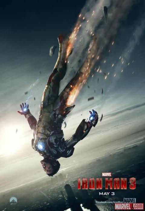 iron man 3 reveals super bowl spot new poster