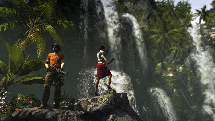 deadisland riptide all all screenshot 034 waterfall