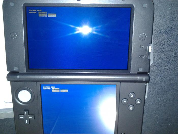 3DS xl Blue Screen