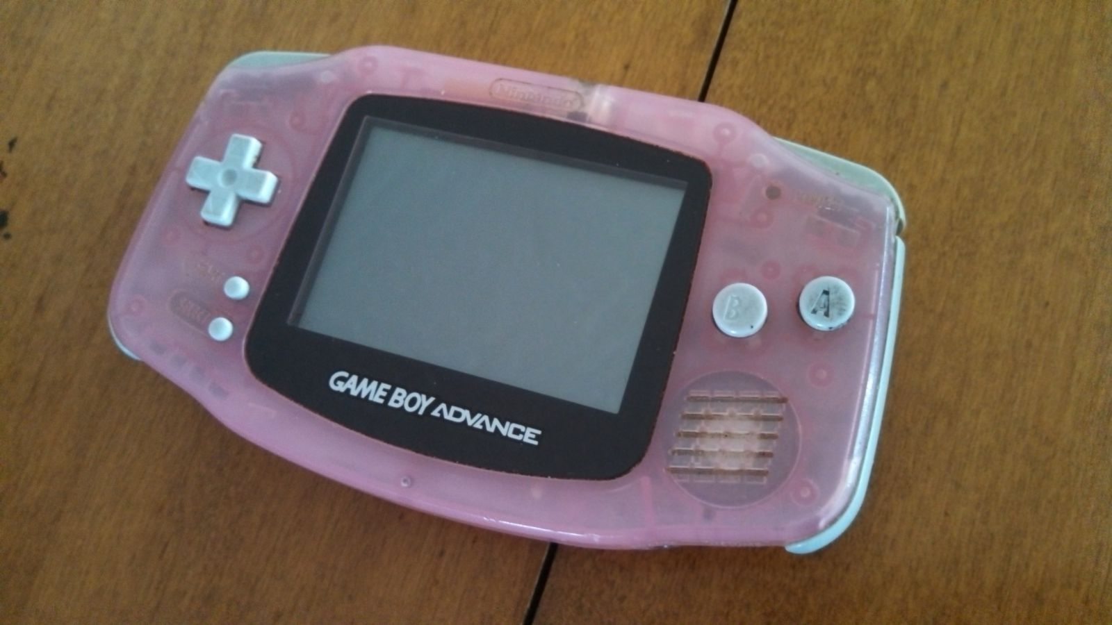 Gameboy Advance, before mod