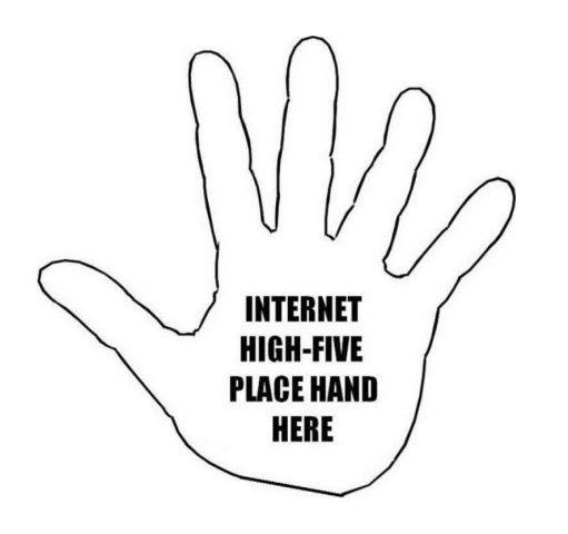 internet high 5