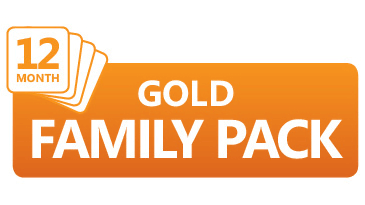 Gold Family Pack