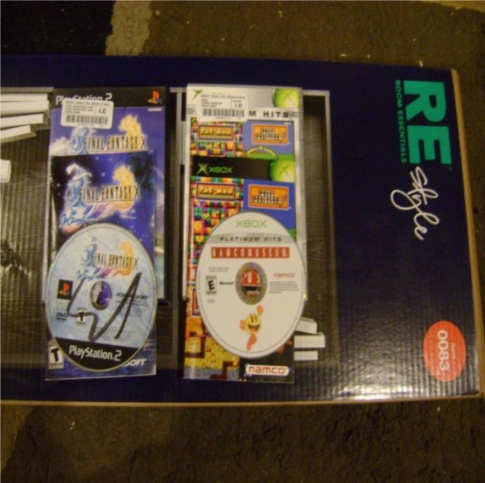 Final Fantasy X ~ CIB ~ $5 Namco Museum ~ CIB ~ $6 Shelf ~ $25