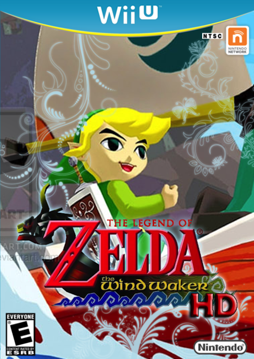 The legend Of zelda The wind waker Hd custom cover By starfireespo d5t8zav
