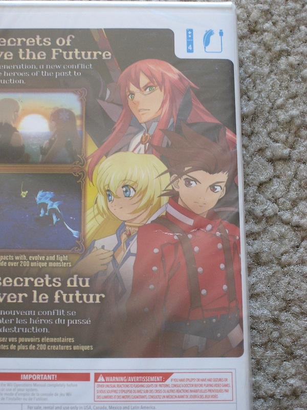 Tales of Symphonia: Dawn of the New World - detail