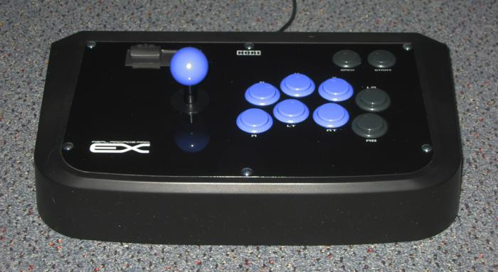 Hori Real Arcade Pro EX with Sanwa OBSF buttons.