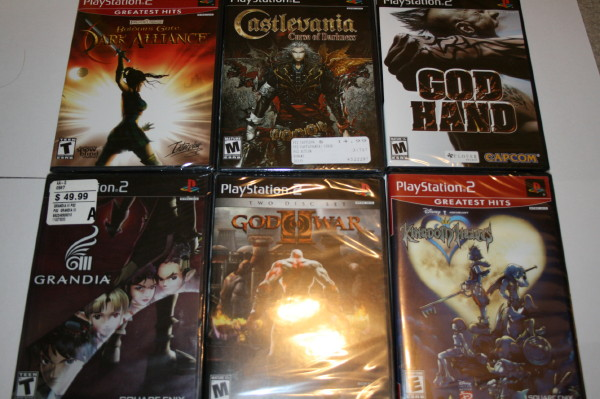 Shrink wrap collection PS2 #1
