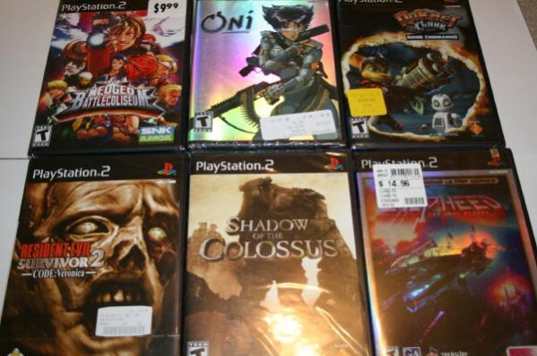 Shrink wrap collection PS2 #3